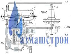 Регулятор давления газа РД-80-80