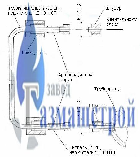 Комплект для подключения ДСП-80-РАСКО